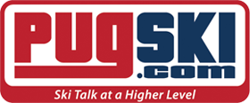 Pugski.com Ski Talk at a Higher Level Logo